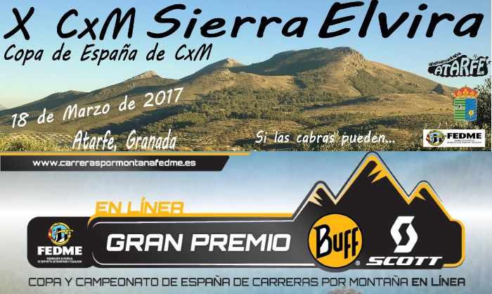Copa de Espa�a de Carreras en L�nea FEDME