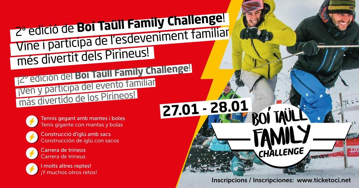 Boí Taüll Family Challenge