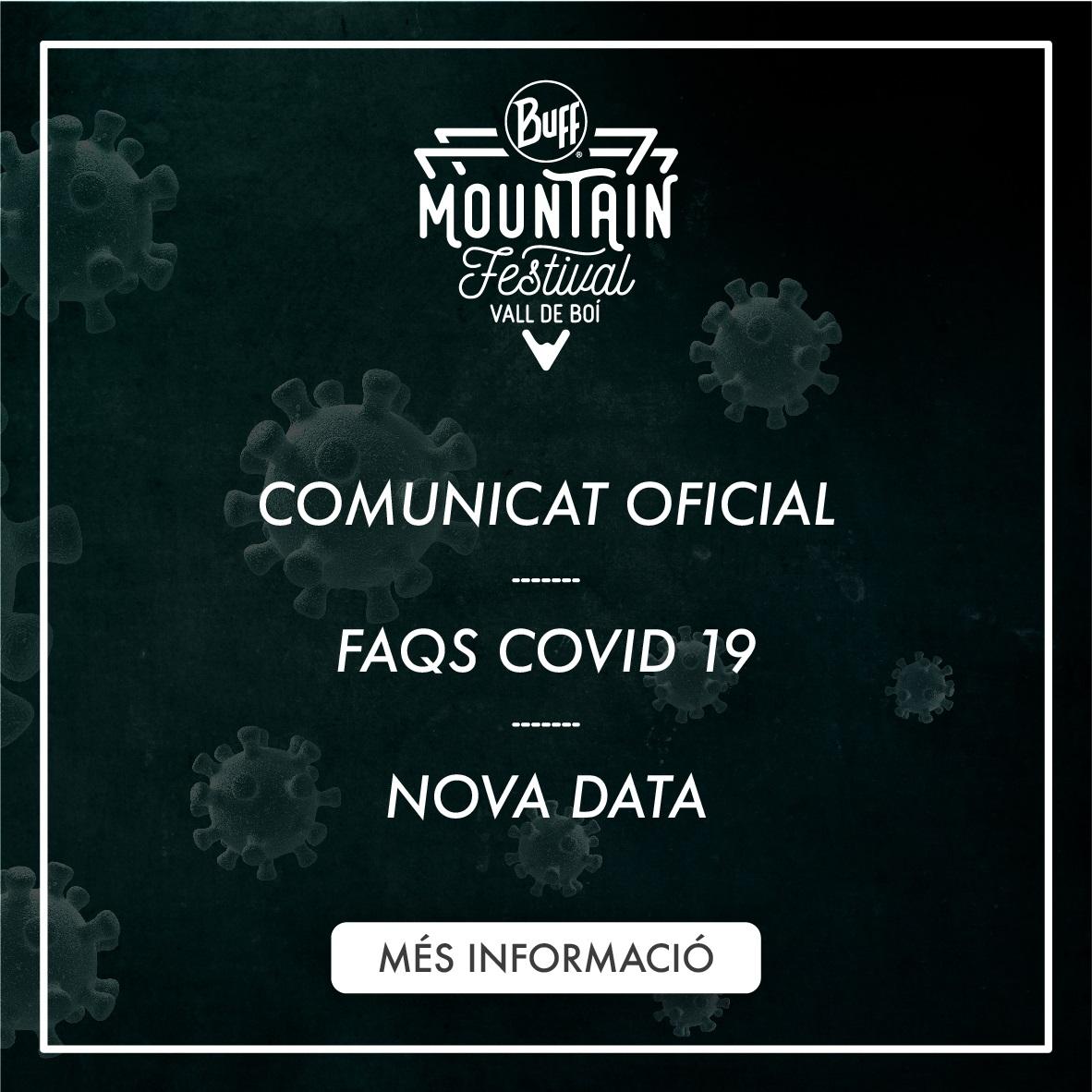 COMUNICADO OFICIAL | FAQS COVID 19 | NEW DATE